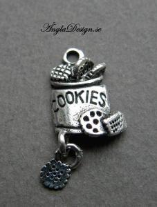 "Berlock ""cookies"" antiksilver, 1st"