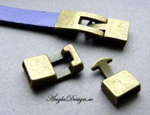 Haklås, brons, 1st