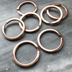 Nyckelring roseguld,25mm,1st