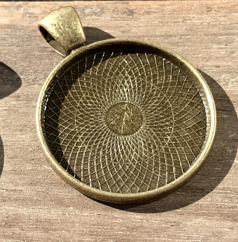 Ramberlock slät brons, 25mm, 1st