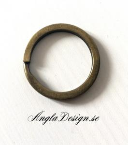Nyckelring brons 25mm, 1st