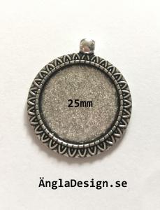 Berlock ram, solros för 25mm, 1st