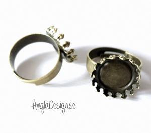 Ringstomme brons innermått för bild 14mm, 1st