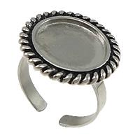 Ringstomme ställbar stainless steel, innermått för bild 14mm 1st