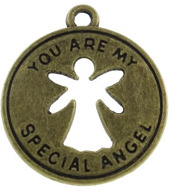 "Berlock brons ""you are my special angel"", 3-pack"