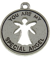 "Hänge/Berlock antiksilver ""you are my special angel"", 3-pack"