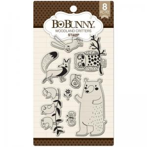 Bo Bunny Woodland Critters stamp