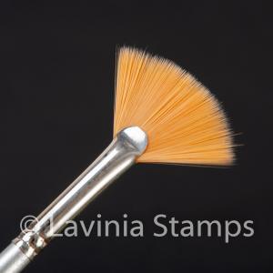 Lavinia Synthetic Fan Brush