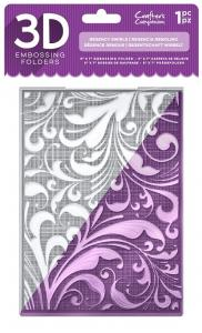 Crafters Companion 3D embossing folders -Regency swirls