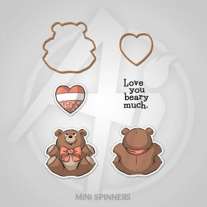 Mini Bear spinner set