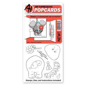 Elephant PopCard