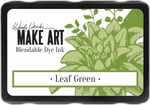 Wendy Vecchi Make Art Blendable Dye Ink-Leaf Green