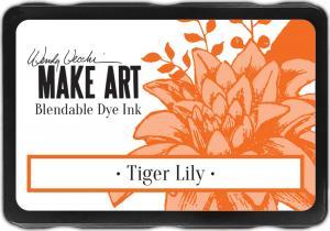 Wendy Vecchi Make Art Blendable Dye Ink-Tiger Lily