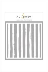 Altenew Stencil- Watercolor Stripes