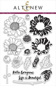 Clear Stamp- Spring Daisy