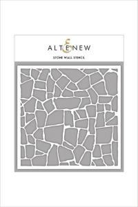 Altenew Stencil- Stone Wall