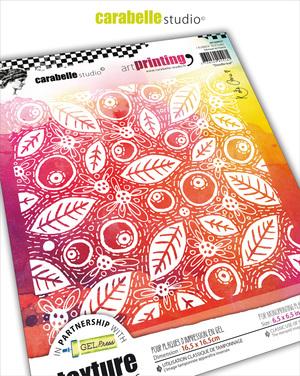 Textures Art Printing-Doodle Leaf