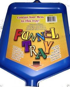 Funnel Tray blå