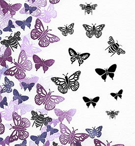 Majestix Bees And Butterflies