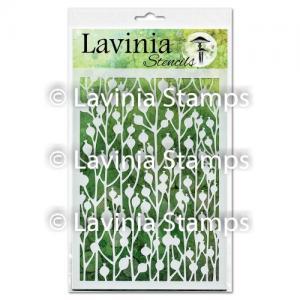 Lavinia Stencil Berry