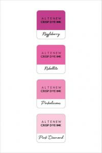 Dye Ink- Cherry Blossom Mini Cube set