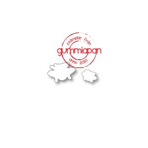 Gummiapan-Dies till humla och liten humla