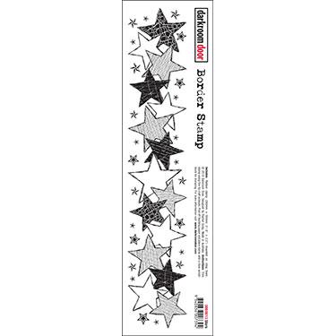 Darkroom door Border Stamp- Stars