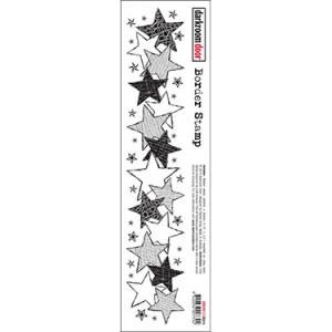 Darkroom door Border Stamp- Stars