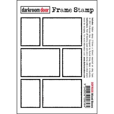 Darkroom door Frame Stamp - Mixed Boxes