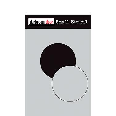 Darkroom door Small Stencil -Circle Set