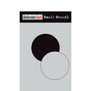 Darkroom door Small Stencil -Circle Set