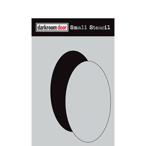Darkroom door Small Stencil -Oval Set