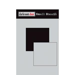 Darkroom door Small Stencil - Square Set