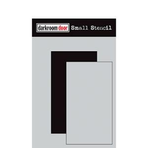 Darkroom door Small Stencil -Rectangle Set