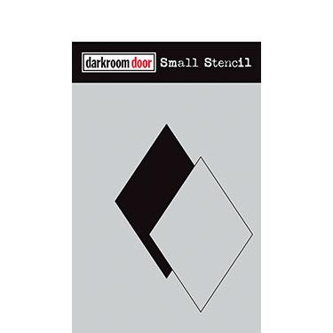 Darkroom door Small Stencil - Diamond set