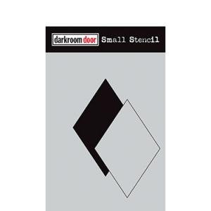 Darkroom door Small Stencil - Diamond set
