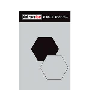 Darkroom door Small stencil -Hexagon Set