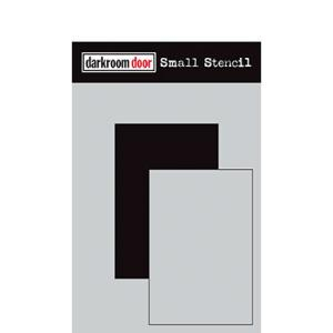 Darkroom door Small Stencil - Short Rektangel Set