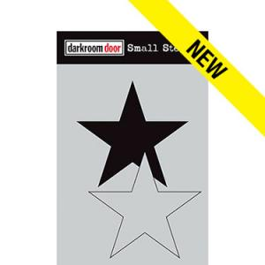 Darkroom door Small Stencil -Star Set