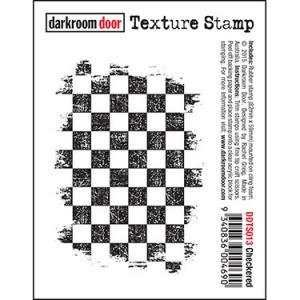 Darkroom door Texture Stamp-Checkered