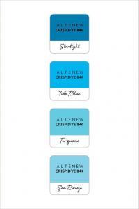 Dye Ink- Deep Blue Seas Mini Cube Set