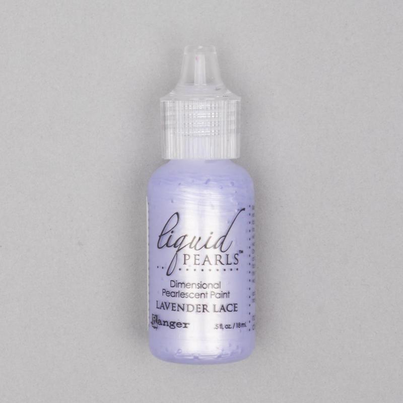 Liquid Pearl Lavender Lace
