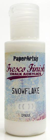 Fresco Finish - Snowflake