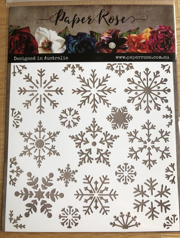 Stencil Snowflake