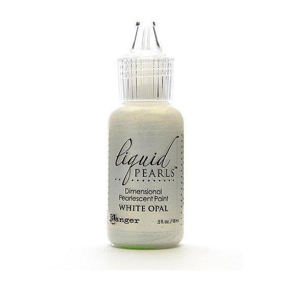 Liquid Pearl White Opal
