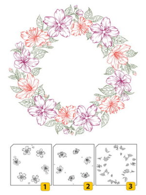 Flower Wreath-2