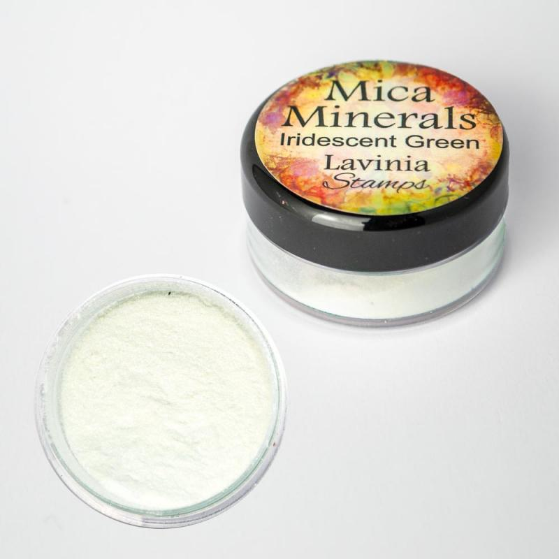 Mica Minerals – Iridescent Green