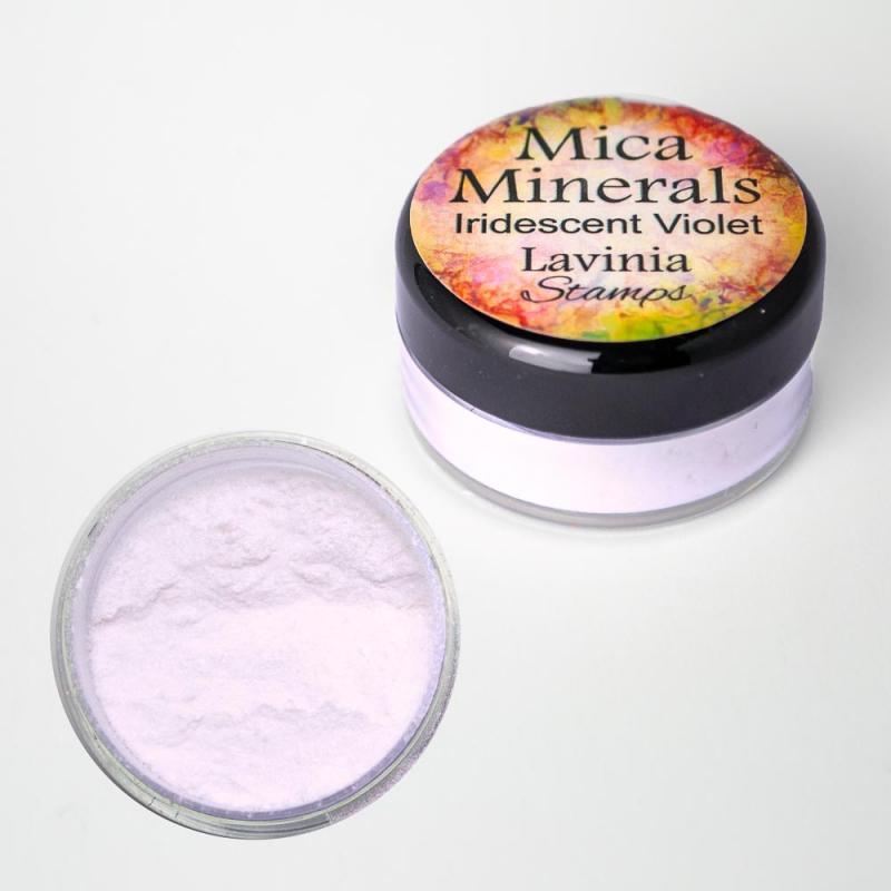 Mica Minerals – Iridescent Violet