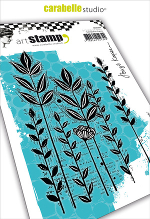Art Stamp-Roadside Weeds