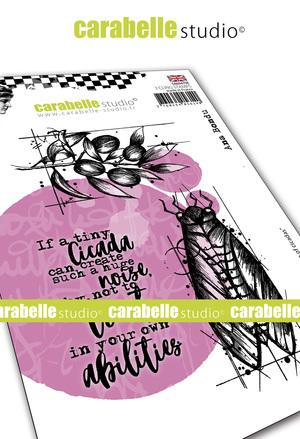 Art Stamp-The singing of Circadas